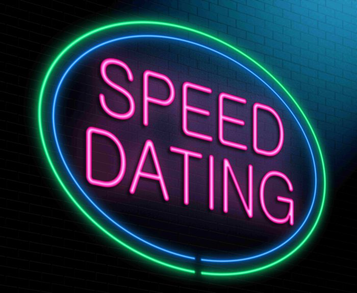 Vrijwilliger speed dating