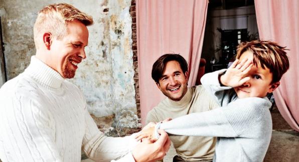 Acteur Rick Paul van Mulligen en man René worden voor de tweede keer vader